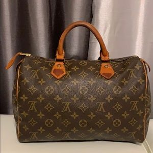 Louis Vuitton bag speed 30 M41526 Brown Monogram